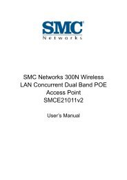 SMC Networks 300N Wireless LAN Concurrent Dual Band POE ...