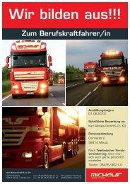 Wir bilden aus!!! - Karl Michels GmbH & Co. KG