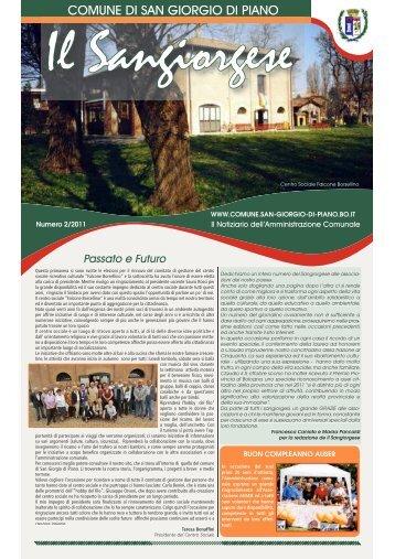 Ottobre n. 2/2011 - Comune di San Giorgio di Piano