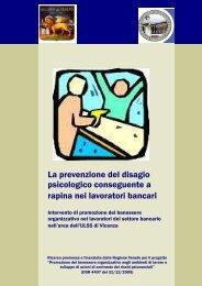 presentazione ricerca - ULSS 6 Vicenza