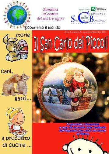 ANNO 3 n. 5 novembre dicembre 2012 - Ospedale San Carlo ...