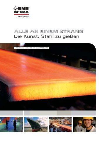 ALLE AN EINEM STRANG Die Kunst, Stahl zu ... - SMS Siemag AG