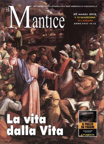 25 mARzo 2012 - ParrocchiaVanzaghello.it
