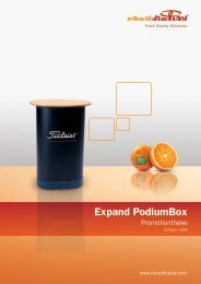Expand PodiumBox Promotion Counter - Easydisplay.com