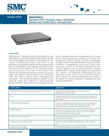 Datasheet - SMC