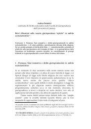Andrea Bettetini (ordinario di Diritto ecclesiastico nella Facoltà di ...