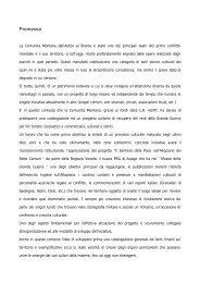 Relazione tecnica - Regione Veneto