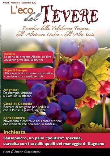 Settembre 2012 - Scarica l'edizione in PDF - Saturno Notizie