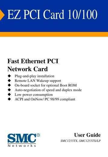 EZ PCI Card 10/100 - SMC