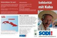 mit Kuba - SODI eV
