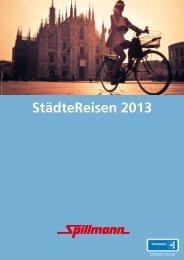 StädteReisen 2013 - Spillmann