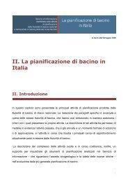 la pianificazione di bacino in italia 268 KB - Gruppo 183