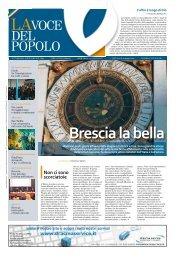Brescia Presentazione libro - La Voce del Popolo