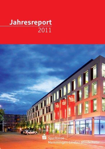 Jahresreport - Sparkasse Memmingen-Lindau-Mindelheim