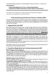 Arbeitsergebnisse der AG 6 - Spix eV
