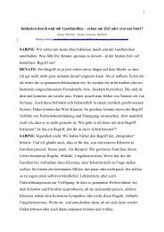 Dialog-Vortrag von Sabine Melichar und Renate Schernus - Spix eV