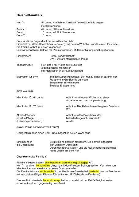 Arbeitsergebnisse der AG 8 - Spix eV
