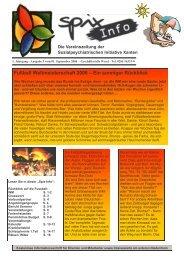 Download Ausgabe September - November 2006 - Spix eV