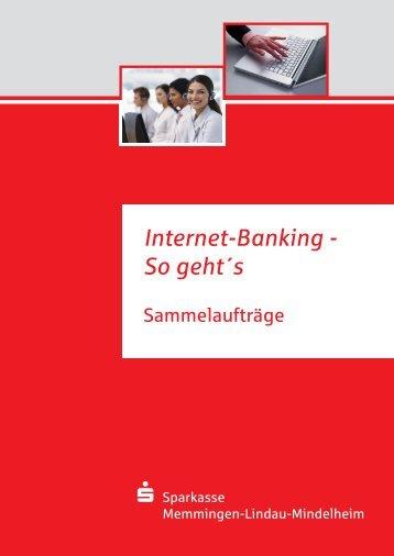 Internet-Banking - Sparkasse Memmingen-Lindau-Mindelheim