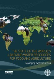 THE H STATE OF THE WORLD'S LAND AND WATER RESOURCES FOR FOOD AND AGRICULTURE