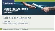 Presentation Title - Software AG