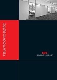 Raum in Raum - Goldbach Kirchner raumconcepte GmbH