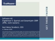 2009 - Software AG
