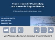 RFID bei der Robert Bosch GmbH - Software AG