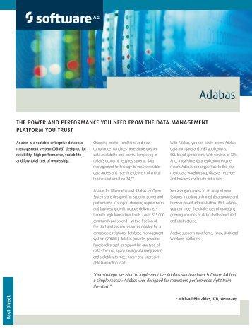 Adabas - Software AG