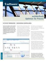 webMethods Optimize for Process - Software AG