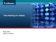 Data Masking - Software AG