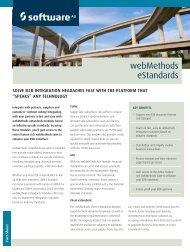 webMethods eStandards - Software AG
