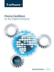 Process Excellence for the Digital Enterprise - Software AG