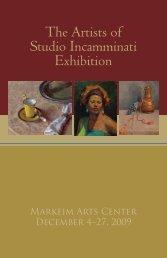 The Artists of Studio Incamminati Exhibition