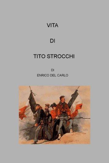 """Scarica il volume """"Vita di Tito Strocchi"""" - Provincia di Lucca"""