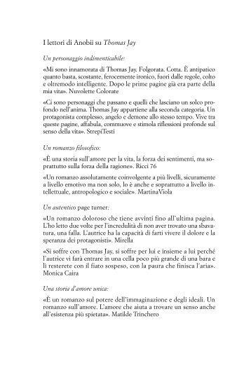 I lettori di Anobii su Thomas Jay - Fazi Editore
