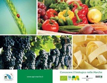 Scarica la brochure sull'agricoltura biologica marchigiana.