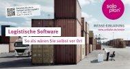 Logistische Software