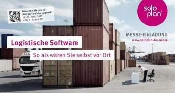 Logistische Software
