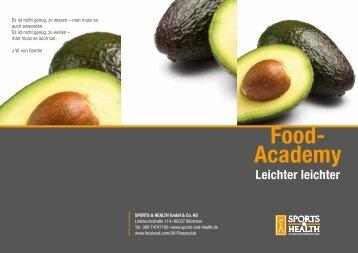 Food- Academy - SPORTS & HEALTH