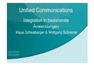 Klaus Schwaberger/ Wolfgang Schreiner - Solvion information ...