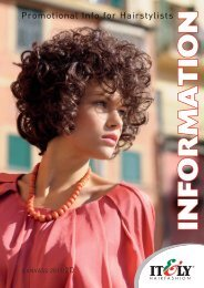 Promotional Info for Hairstylists - Itely Hair Fashion
