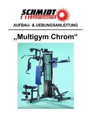 Montageanleitung und Übungen Multigym Chrom - Sport-Tiedje