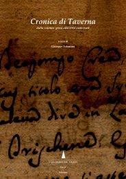 Cronica di Taverna - Dalla colonia Greca alla Città Medievale