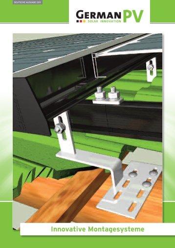Innovative Montagesysteme - Sonnenhandwerker GmbH