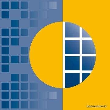 Folder - Sonneninvest AG