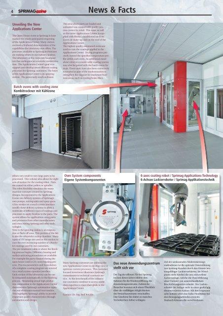 2 / 2008 EN/DE Editorial Editorial Content / Inhalt Page ... - Sprimag