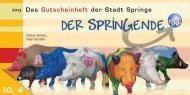 Gutscheinheft - Stadt Springe