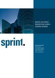 Bewertungen durch Kunden - Sprint Sanierung GmbH