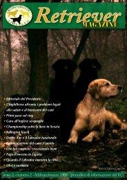 Copertina n. 2 - Retriever Magazine